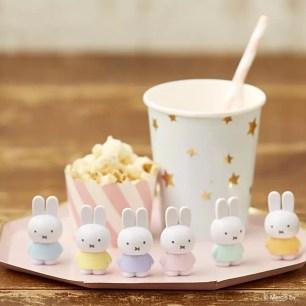 百圓商店搶手熱銷☆小巧可愛玩偶擺飾『miffy tetrafibits』共12色