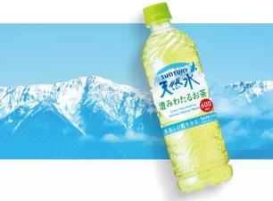 結合水和綠茶各自的優點♡「SUNTORY天然水 清透澄淨茶」新上市
