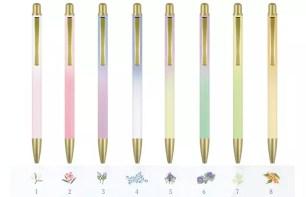 霧面質感的美麗漸層✿SAILOR鋼筆「花卉原色 圓珠筆」系列‧共8款