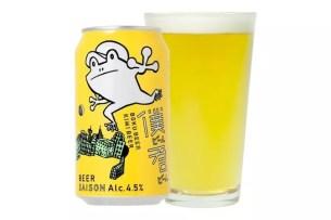 """日本Yo-Ho Brewin公司x LAWSON共同開發☆""""青蛙啤酒""""改版升級上市"""