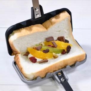 燕三条Kitchen研究所☆使用1片吐司份量剛剛好「熱壓三明治SOLO」