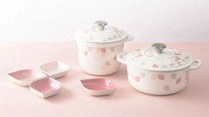 鍋具品牌「LE CREUSET」新商品上市♪典雅粉嫩「Petal collection」系列
