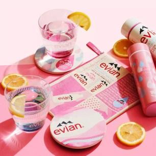 「Afternoon Tea LIVING」x天然礦泉水「evian」聯名系列商品☆7月8日上市