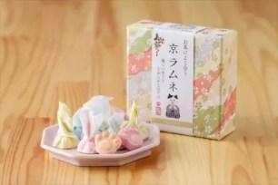貓咪肉球造型一盒3種口味♡「適合配茶享用的綜合京彈珠汽水風味糖」