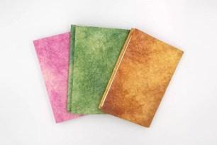 銀座 蔦屋書店限定文具☆富質感與韻味「和紙書套:江戶的和菓子色」