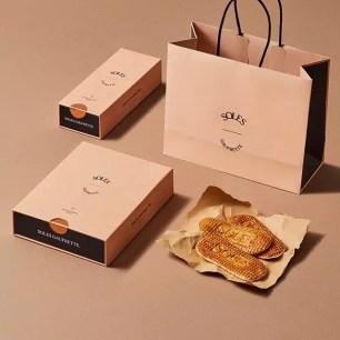 東京車站的法式薄脆鬆餅專售店「SOLES GAUFRETTE」大阪、神戶也有期間限定快閃店