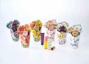 有如花束般的別緻包裝✿有機保養品牌「Melvita」於日本全國數量限定販售