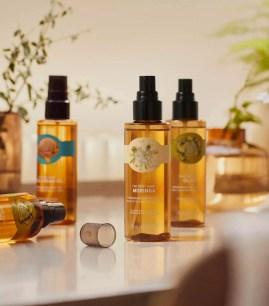 日本THE BODY SHOP新品☆身體用保濕護膚油「Dry Body Oil」共3種