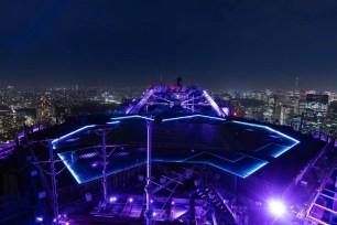 東京都夜景×夢幻燈光♡2021年4月六本木新城「Sky Deck」點燈企劃