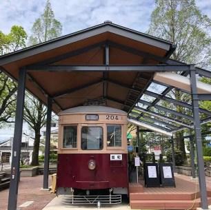 福岡縣‧大牟田車站西口站前廣場的打卡熱點!復古路面電車咖啡廳「hara harmony coffee」