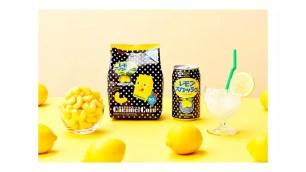 Tohato東鳩『焦糖玉米脆果・Lemon Squash味』聯名新口味