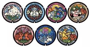 寶可夢迷今夏踩點新去處! 2021年夏天北海道新增7個『寶可夢人孔蓋』
