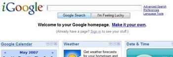 iGoogle Page