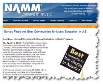 Namm education Schools