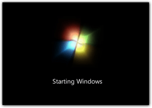 *Windows 7 Bootup