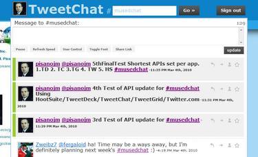 TweetChat App