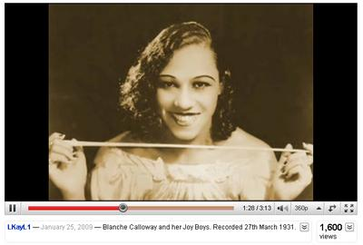 6_Blanche_Calloway_YouTube