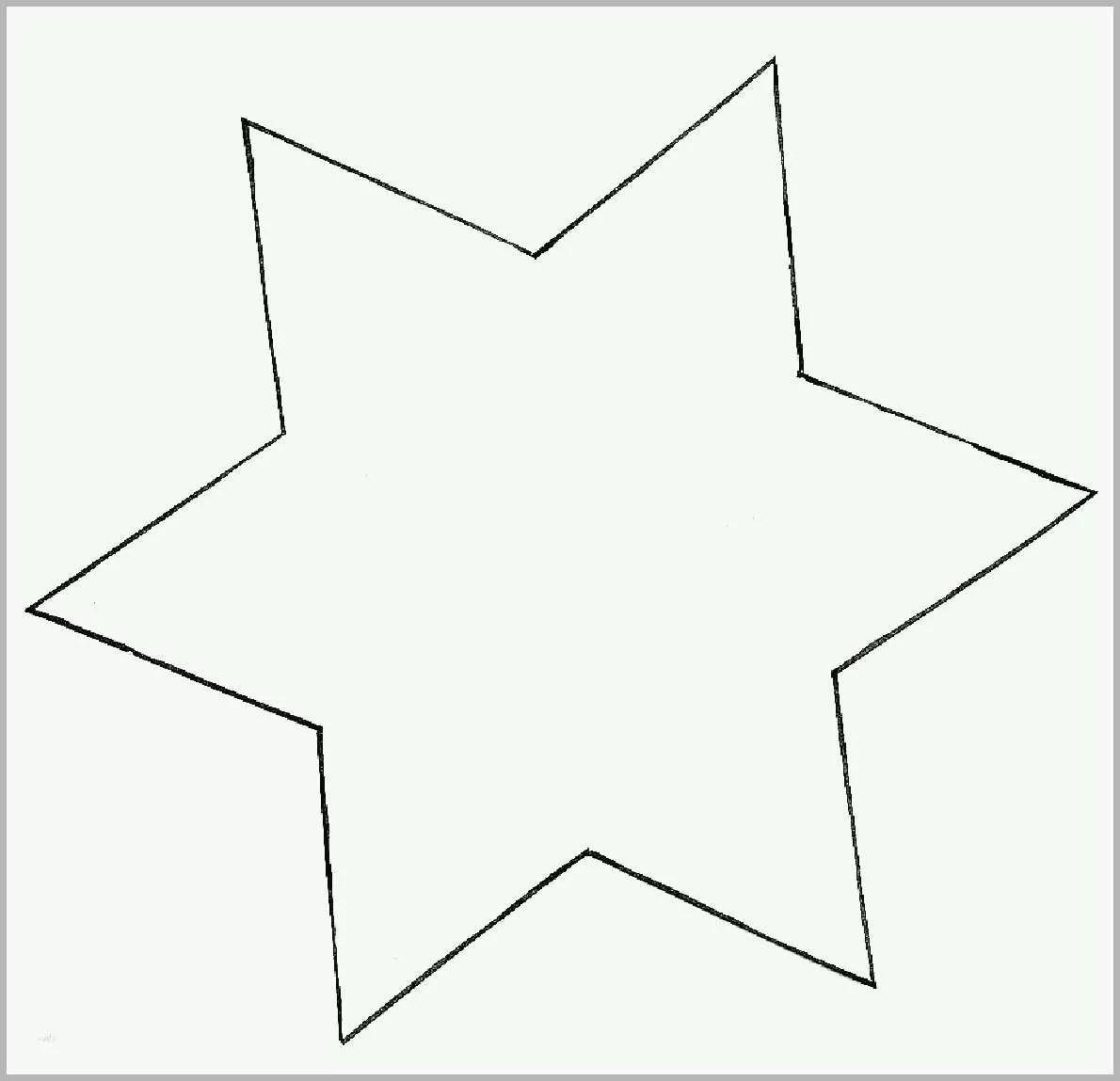 Am Beliebtesten Vorlage Stern 5 Zacken Schön Pin Stern
