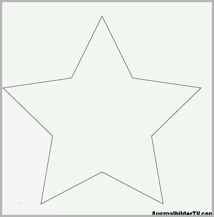 Bemerkenswert Stern Malvorlage A4 Bibliothek Kostenlose