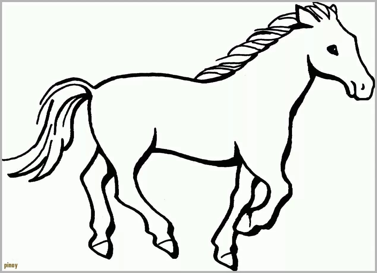 Exklusiv Window Color Malvorlagen Kostenlos Pferde Fancy