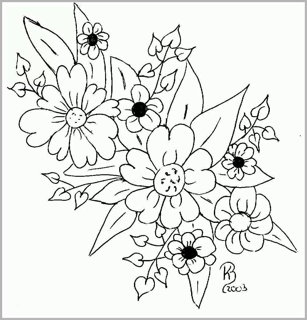 Limitierte Auflage Ausmalbilder Window Color Blumen