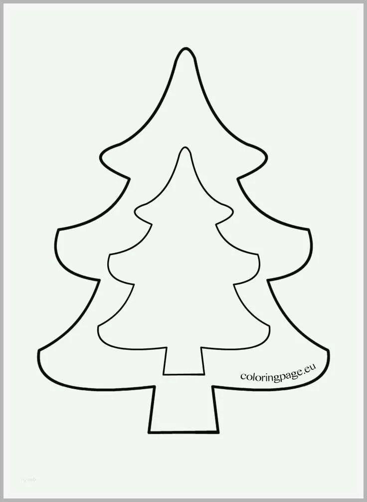 Original Tannenbaum Vorlage Zum Ausdrucken Erstaunlich Die