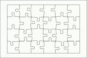 Überraschen Puzzle Selber Machen Vorlage Malvorlage Store ...