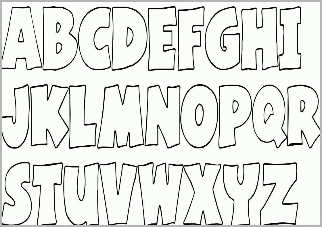 Wunderschönen Ausmalbilder Alphabet Kostenlos Malvorlagen