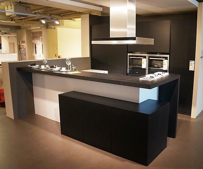 Küche U Form Tresen | Rational-musterküche Luxus Musterküche ...