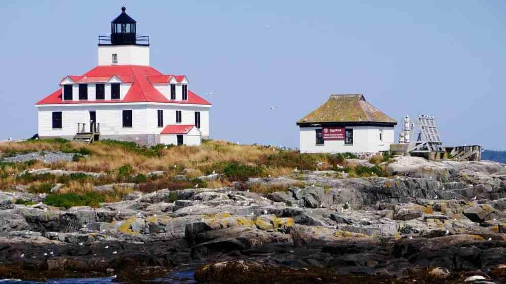 Egg Rock Lighthouse - Maine