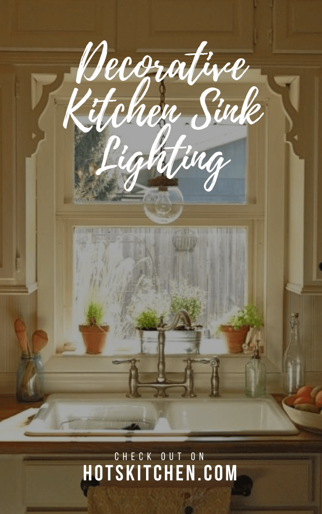 Decorative Kitchen Sink Lighting