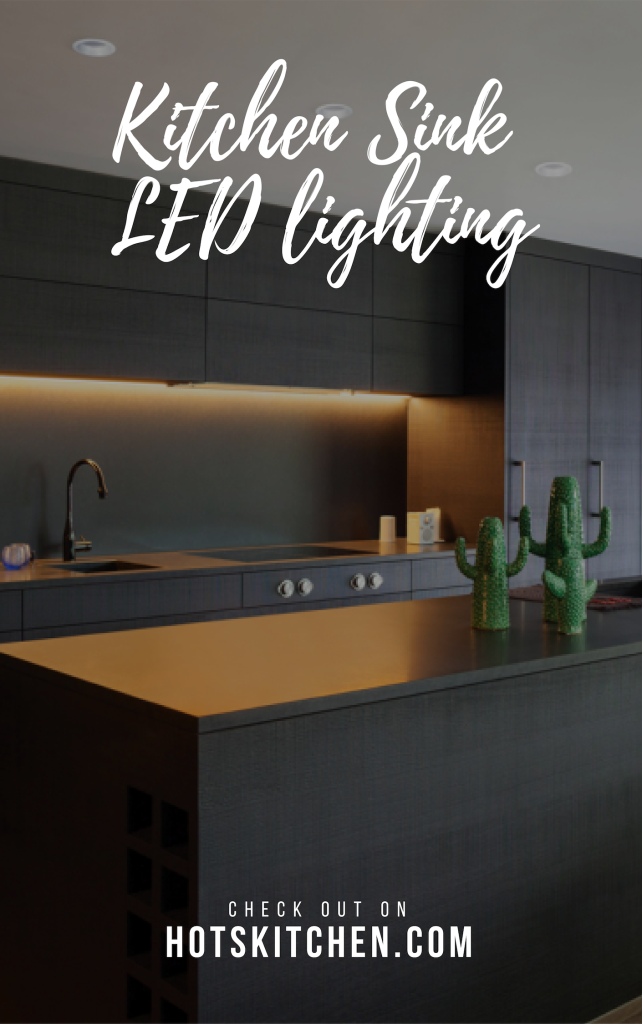 Kitchen Sink LED lighting