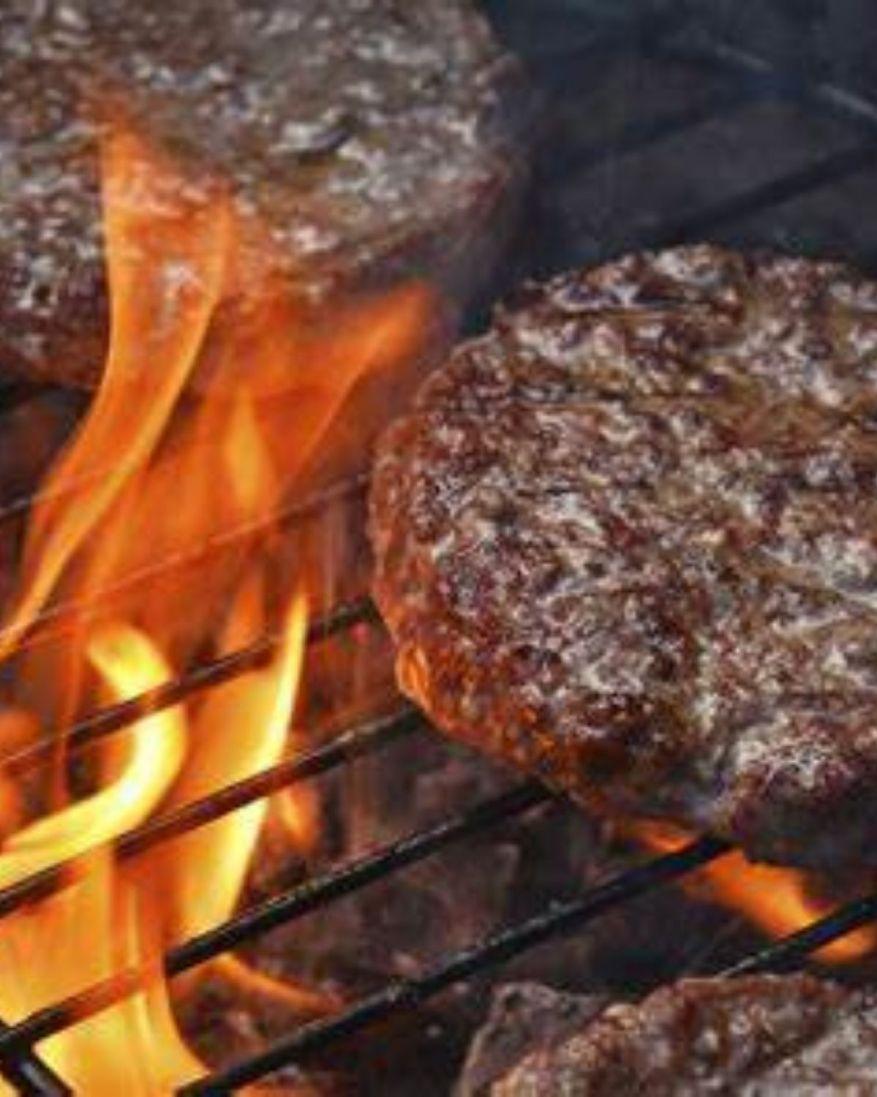grilling frozen burgers