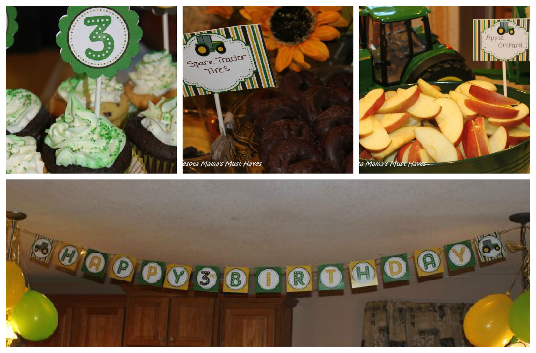 John Deere Tractor Birthday Party Food Games Favors Amp More