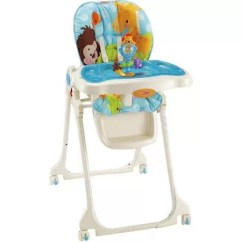 High Chair Suction Toy Baby Cover Singapore Fisher Price Precious Planet Sky Blue Review
