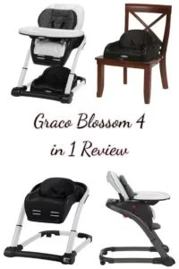 graco high chair 4 in 1 wooden folding chairs for sale does the blossom convertible seating system customer feedback