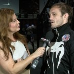 Susan Cingari with UFC fighter Brad Pickett