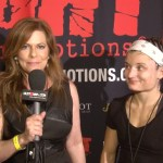 Susan Cingari with fighter Juliette Jones at Fight Time Promotions