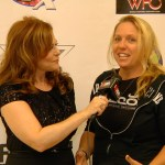 Susan Cingari with Christine Klespies at the Extreme Fit Expo