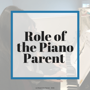 Role of the Piano Parent