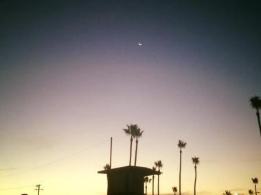 Sunrise in Newport Beach, CA