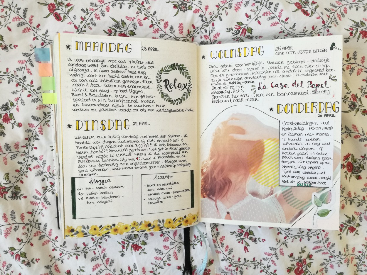 bullet journal april