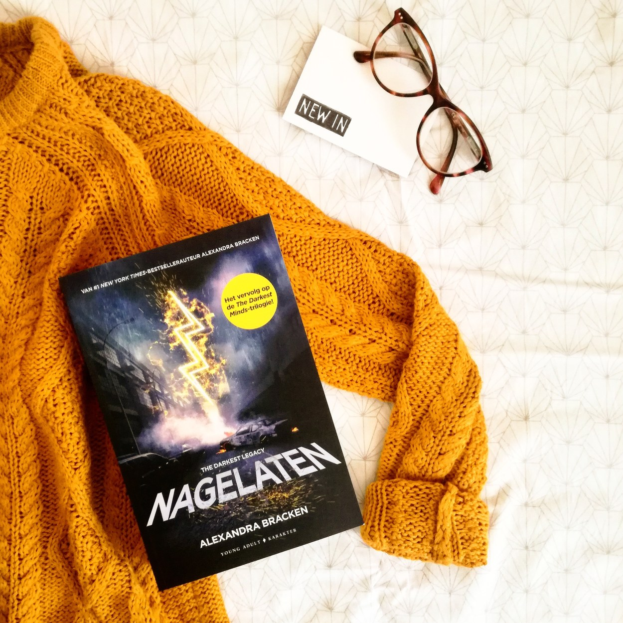 nagelaten the darkest minds Alexandra Bracken