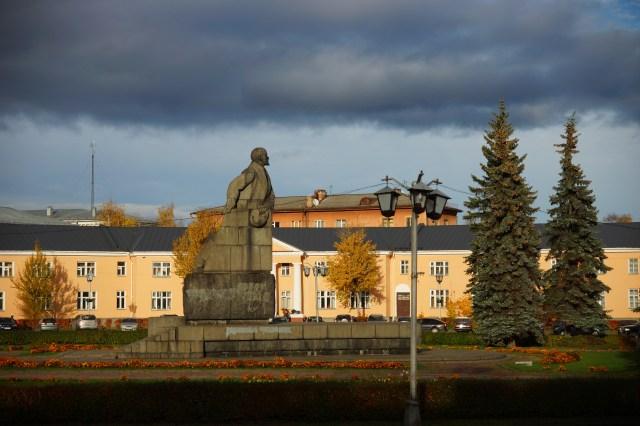 Площадь Ленина - исторический центр Петрозаводска. Фото: Губернiя Daily