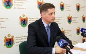 Председатель Госкомитета по управлению госимуществом Карелии Денис Косарев. Фото: gov.karelia.ru