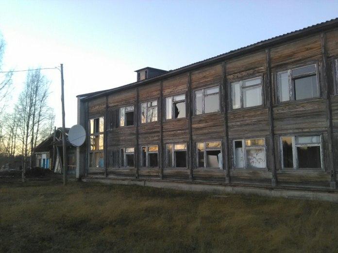Школа в Ледмозере. Фото: Андрей Рогалевич