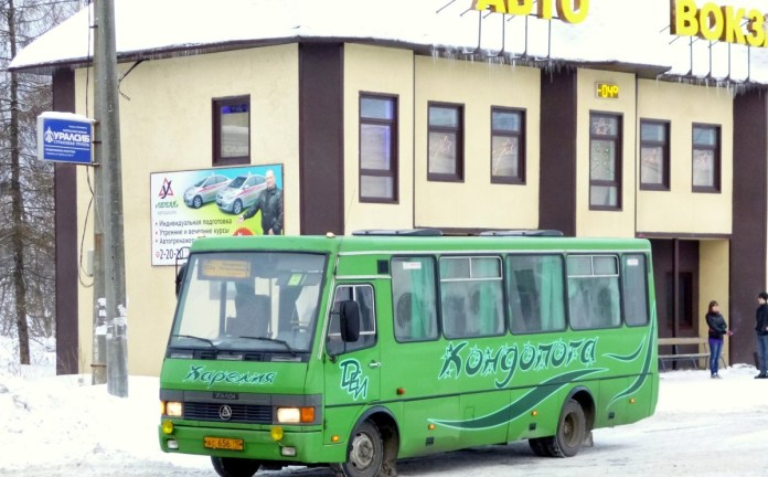 Автобус ИП Данилкина в Кондопоге. Фото: Алексей Владимиров