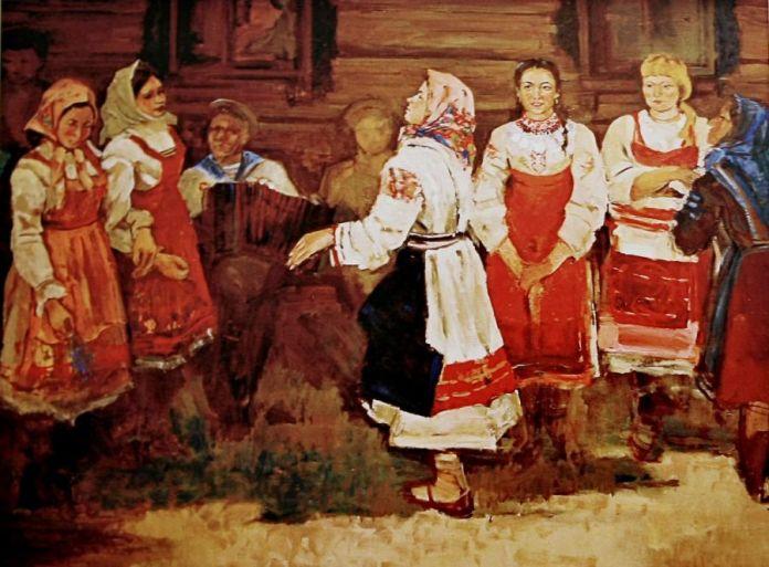 Репродукция картины Станислава Алатова