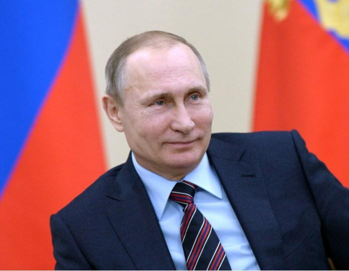 Владимир Путин на встрече с членами Клуба лидеров. Фото: президент.рф