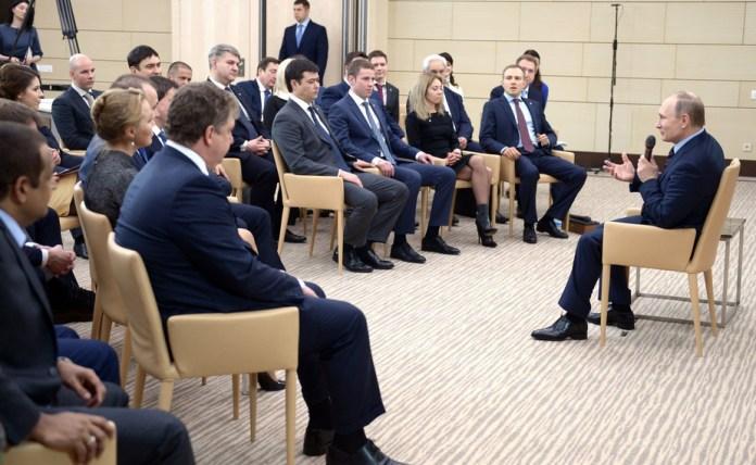 Владимир Путин назвал патриотизм национальной идеей России. Фото: президент.рф